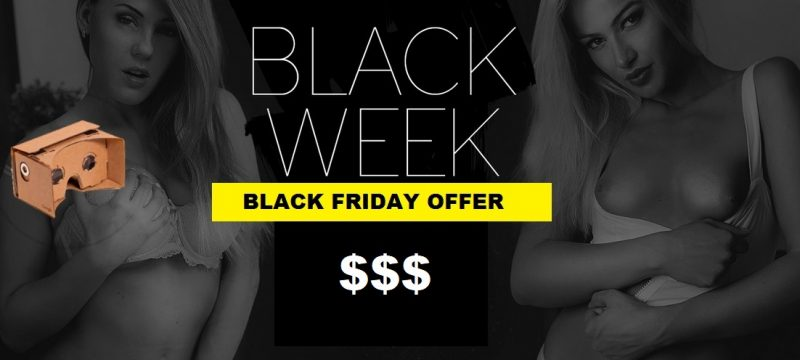 VirtualRealPorn Black Friday deal