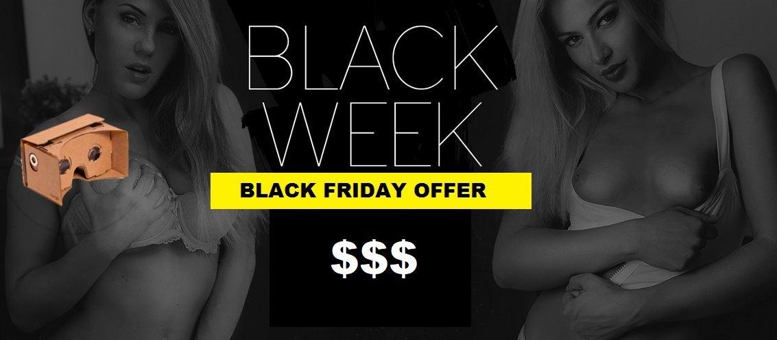 VirtualRealPorn black friday deal 2017